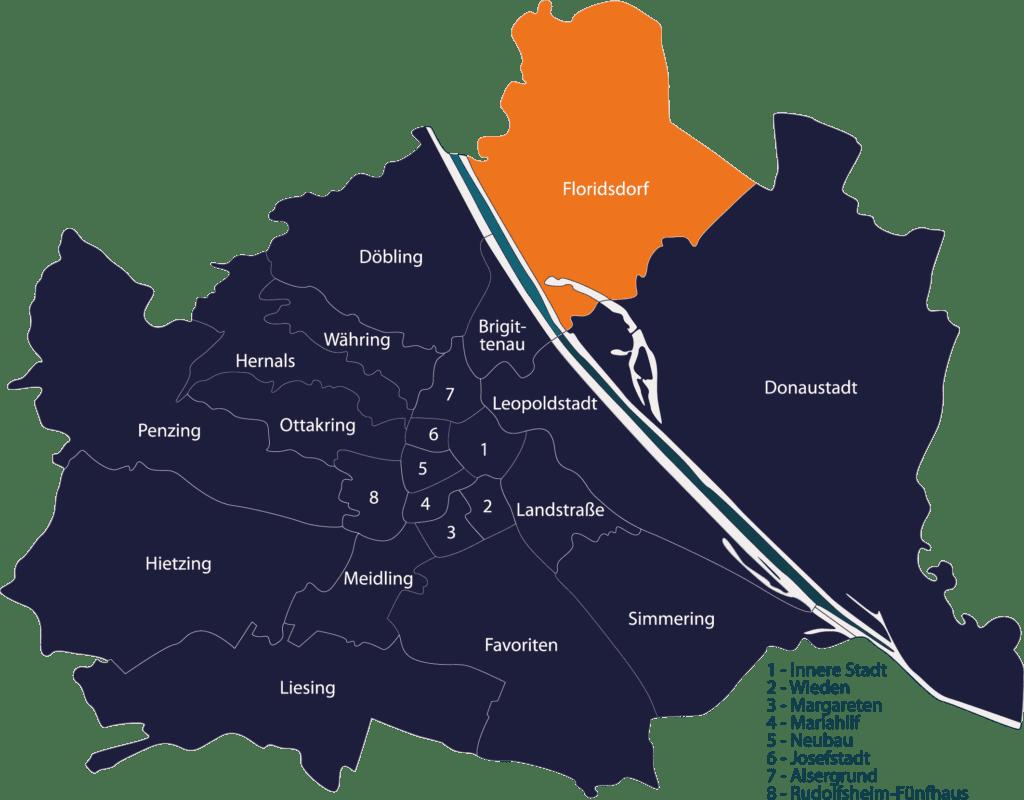 Schlüsseldienst Wien Floridsdorf