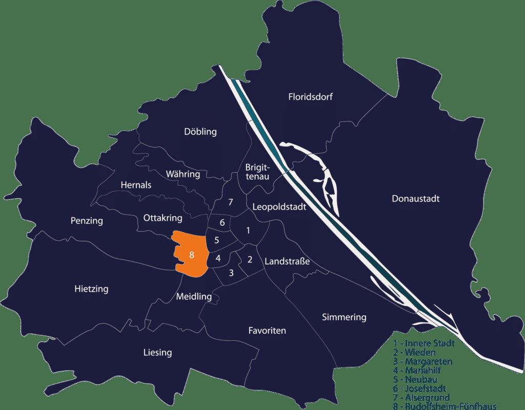 Schlüsseldienst Wien Rudolfsheim-Fünfhaus